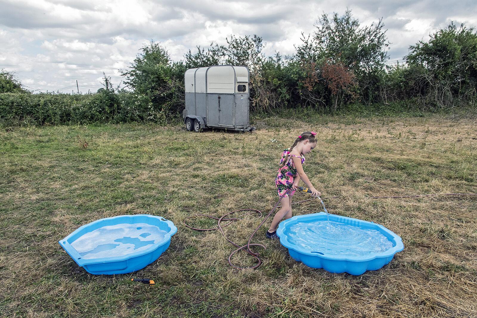 Two Pools, roadside campsite, Limerick, Ireland 2018