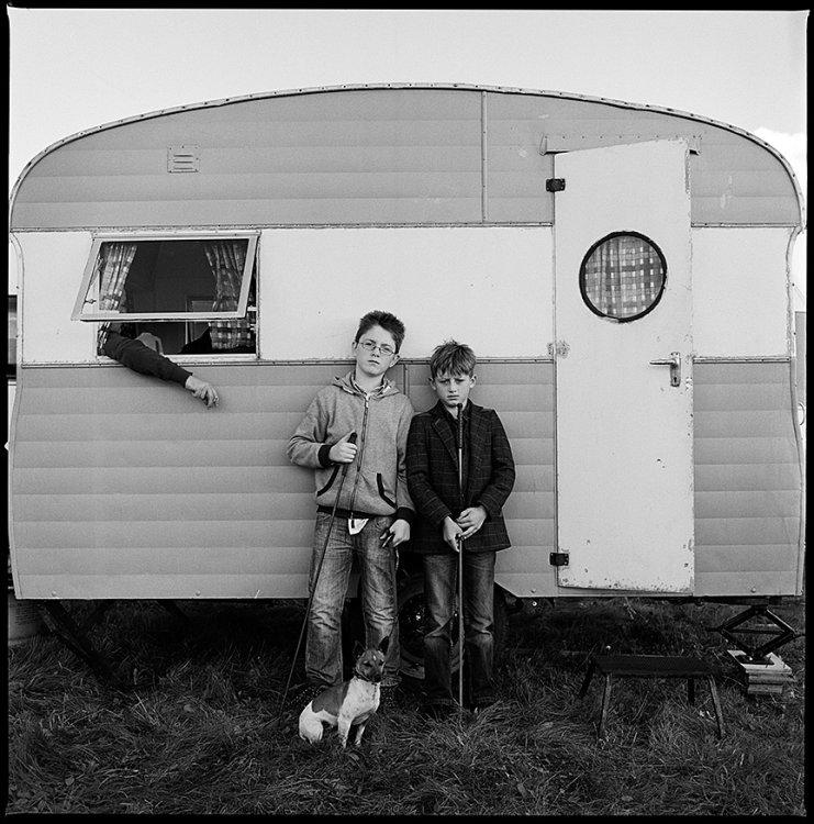 Vintage Caravan, Ballinasloe, Galway, Ireland 2014