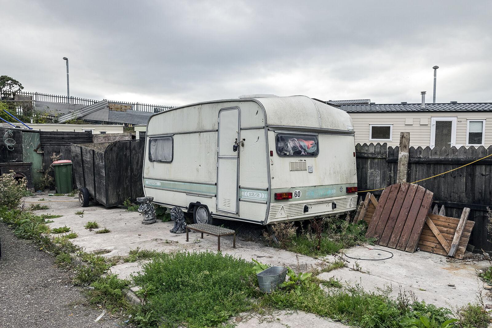 Vintage Caravan, halting site, Cork, Ireland 2018