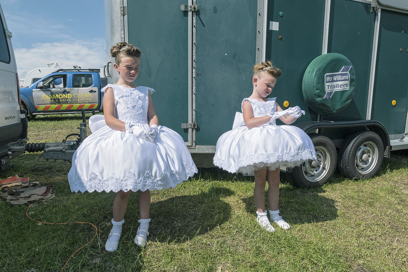 White Dresses, Appleby-in-Westmoreland, UK 2019