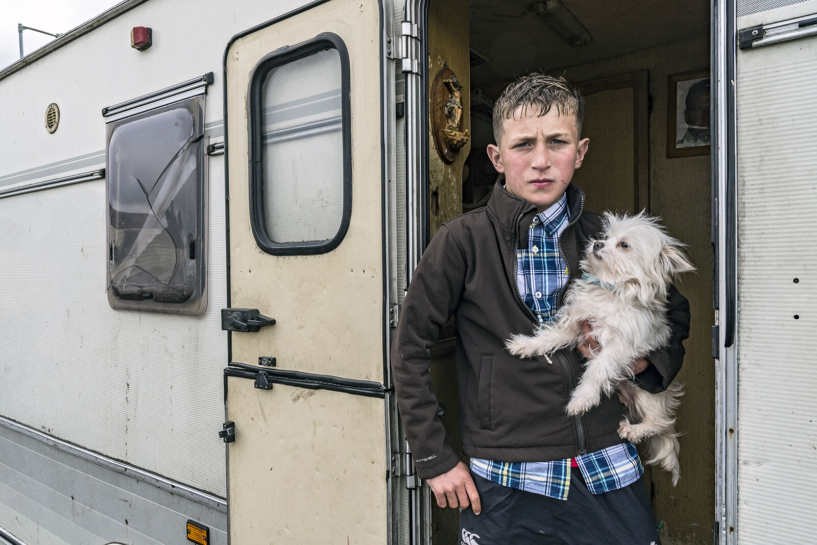 Willy With Dog, Tipperary, Ireland 2019