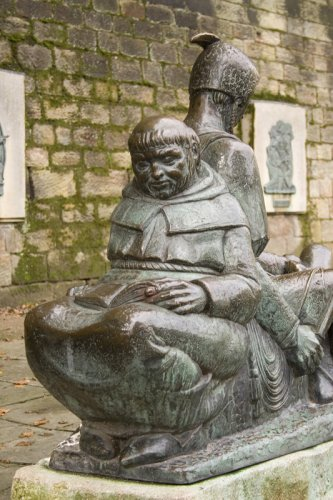 Friar Tuck and Little John, Nottingham
