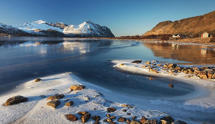 Ice Beach near Hagvagen