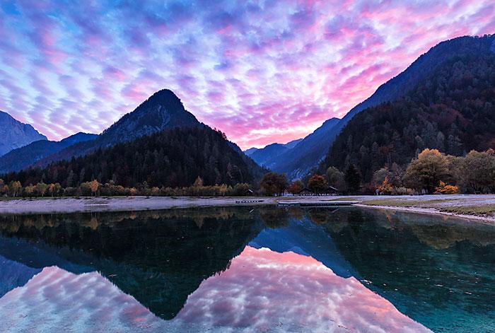 Lake Jasna Sunset