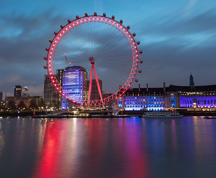 London Eye at Sunrise