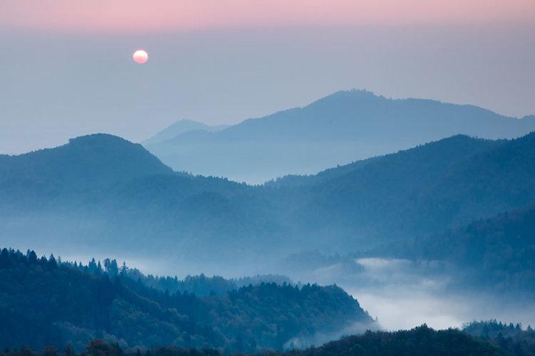 Morning Mists - Jamnik