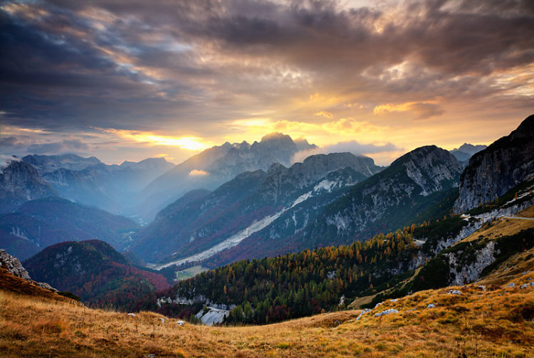 Mt Mangart Sunset 1