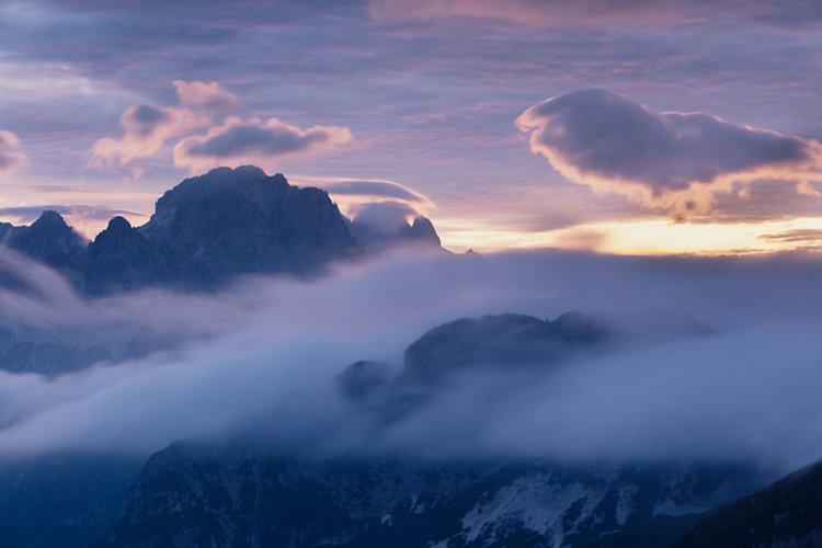 Mt Mangart Sunset 3