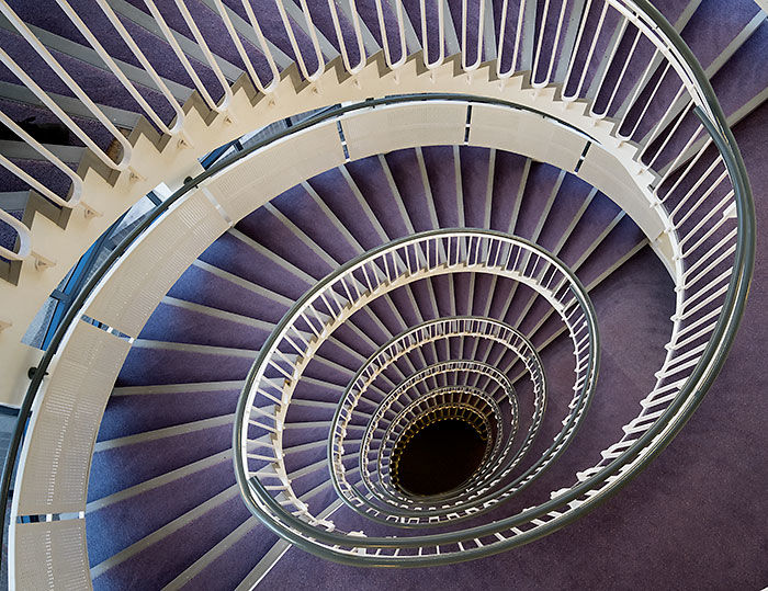 Spiral Stairs Down