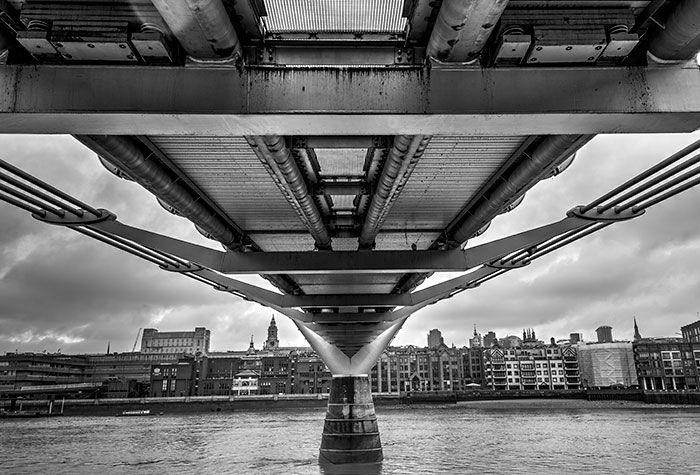 Under Millenium Bridge