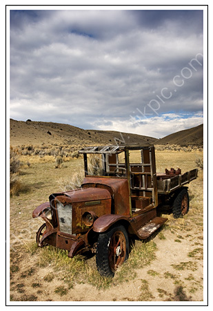 Abandoned truck -Bannack Ghost Town
