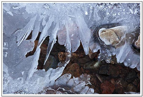 Ice Crystals - Glen Etive