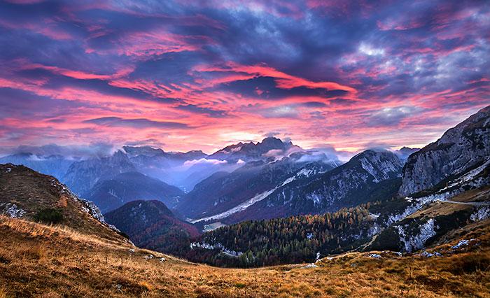 Mt Mangart Sunset 2