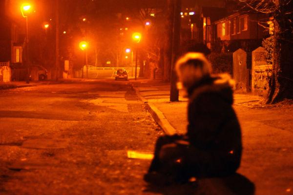 Street drunk