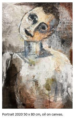Portrait 50 x 80 cm