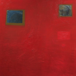 Red Space 90 x 90 cm