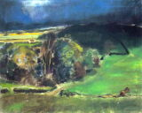 Nightlight, The Sheepdowns, towards Byworth