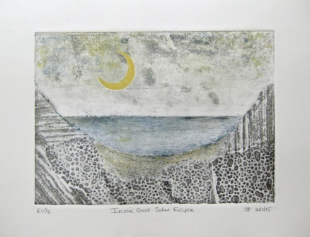 Jurassic Coast Solar Eclipse