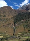 Village below Kutang Himal, Manaslu