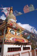 Stupa at  Llogoan, Manaslu
