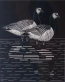 Original scratchboard artwork