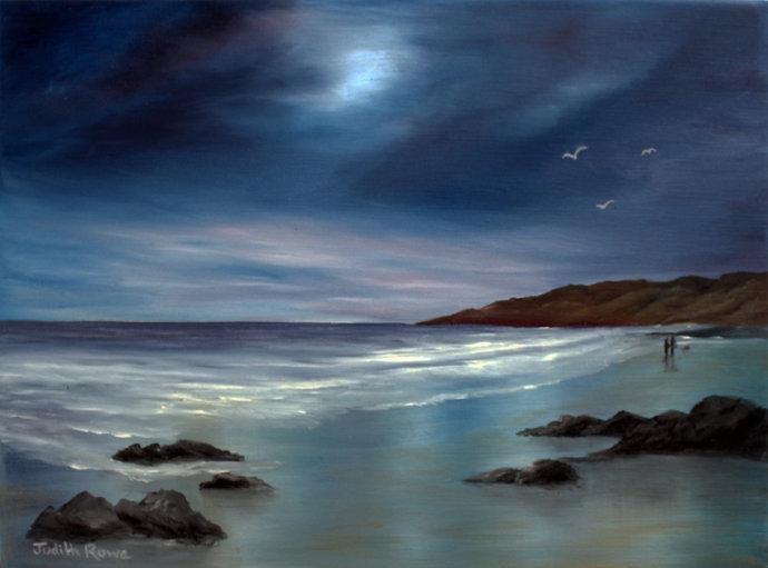 Moonlight Stroll: **SOLD**