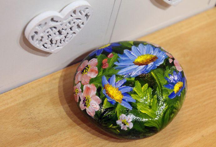 Blue Daisy Garden Sold