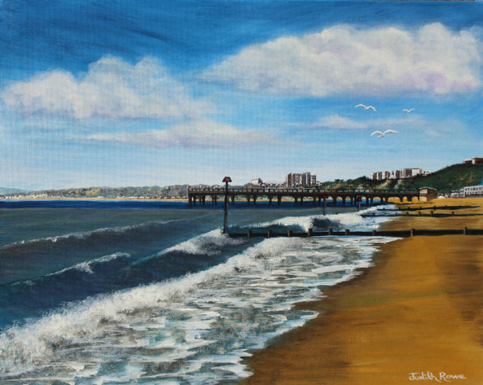 Boscombe Beach & Pier - SOLD (COMMISSION)
