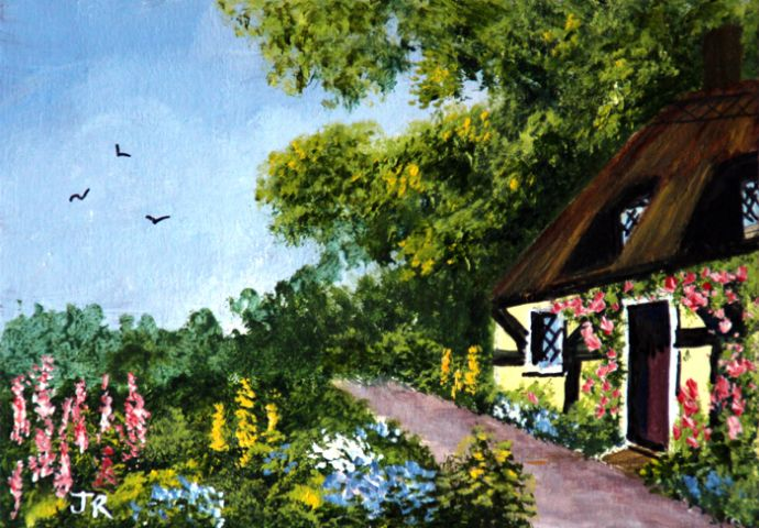 Cottage garden **Sold**