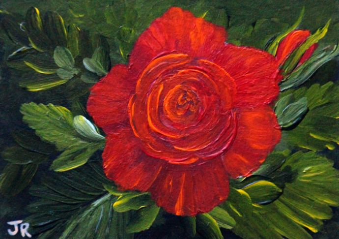 Flame Rose **Sold**