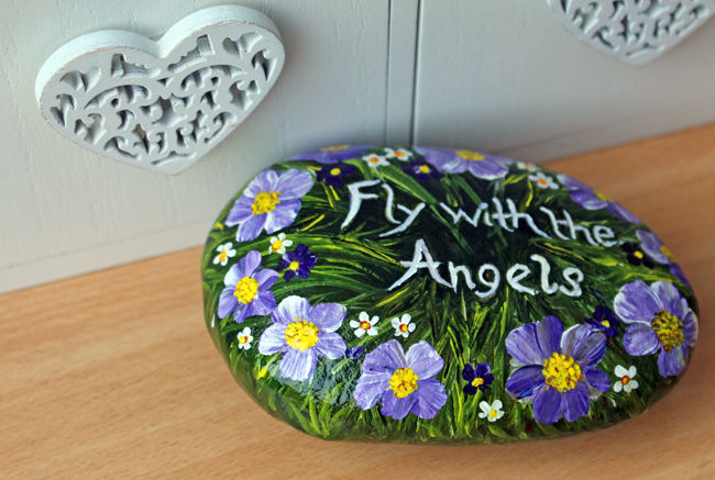 Fly With The Angels Memory Stone-Sold
