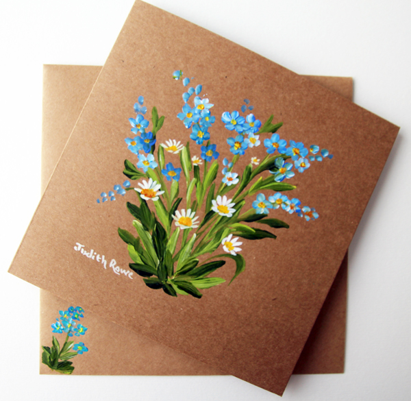 FORGET-ME-NOTS AND DAISIES #2