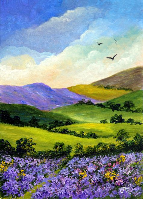 Heather on the Moors **Sold**