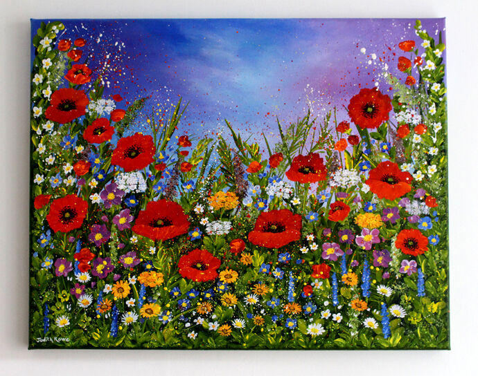 Glorious Poppies: Commission: SOLD