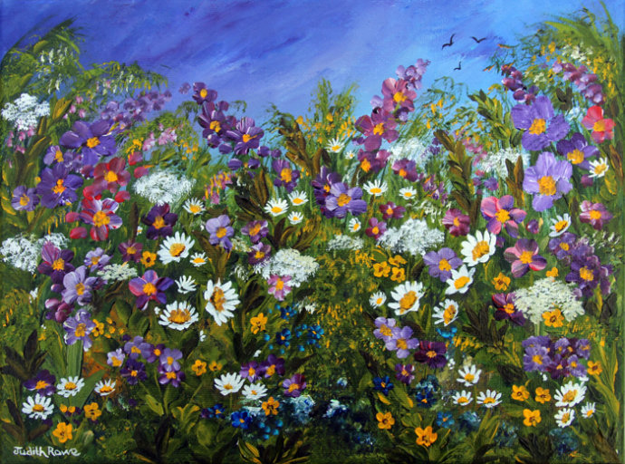 Purple Meadow:SOLD