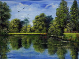 Lakeside Reflections - SOLD (COMMISSION)