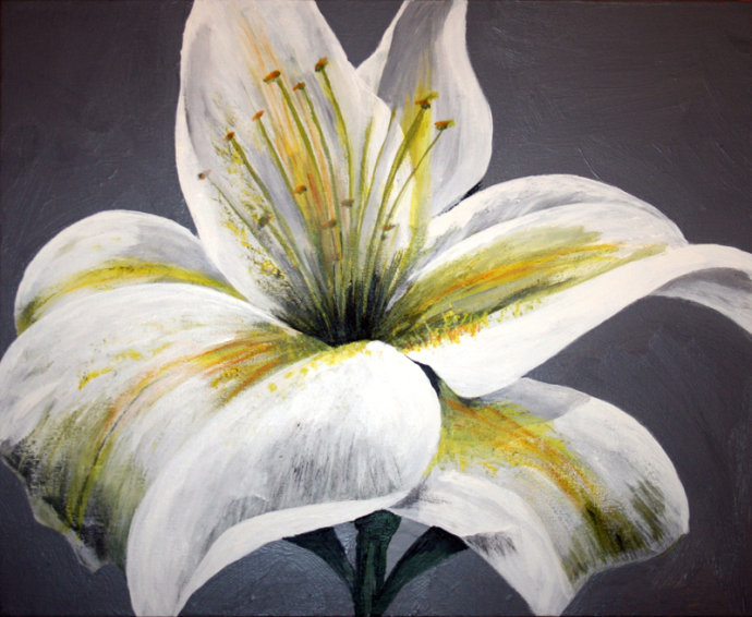 White Lily<br>SOLD