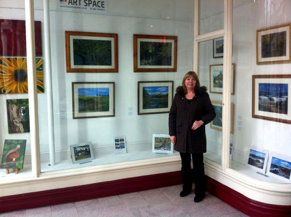Exhibiting at Flux Art, Boscombe