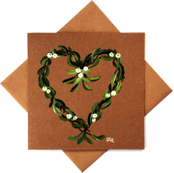MISTLETOE HEART #1