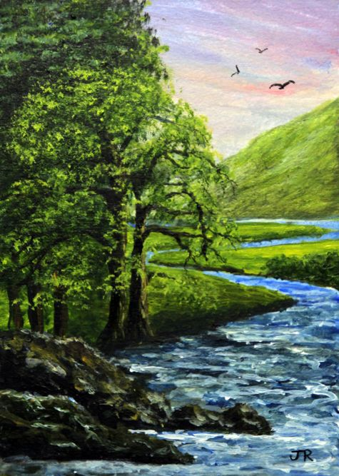 Mountain Stream **Sold**