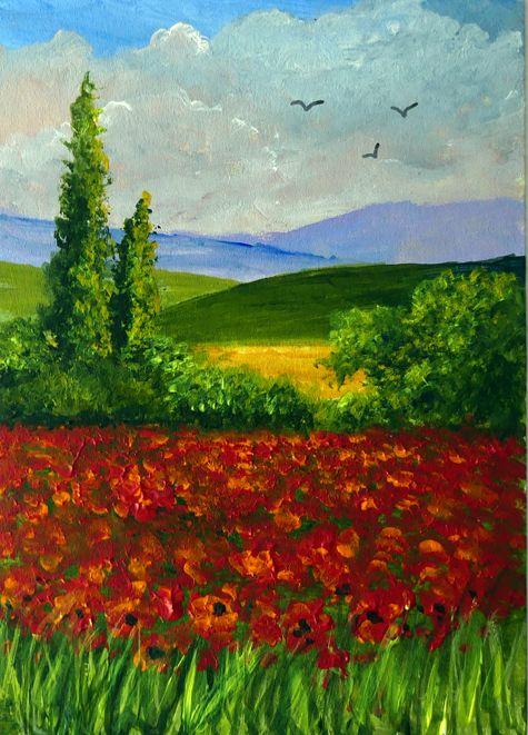 Poppy Fields **Sold**