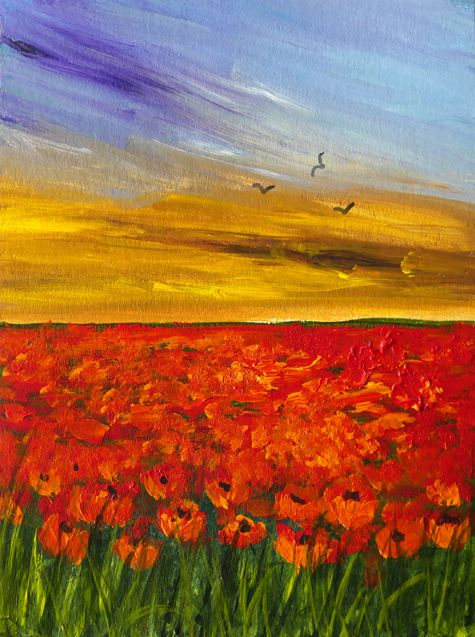 Poppy Sunset **Sold**