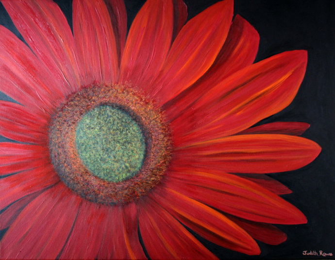 Red Gerbera - SOLD