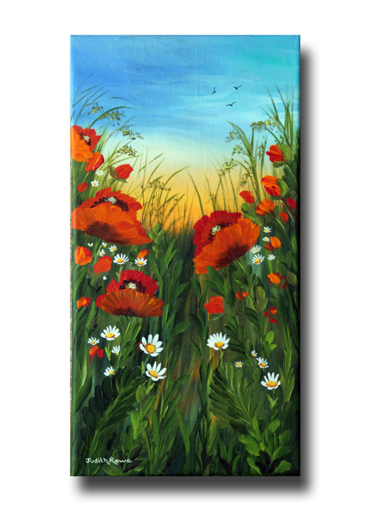 Poppy Sunrise: **SOLD**