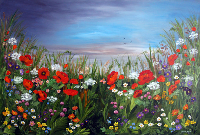 Wild Countryside Meadow SOLD