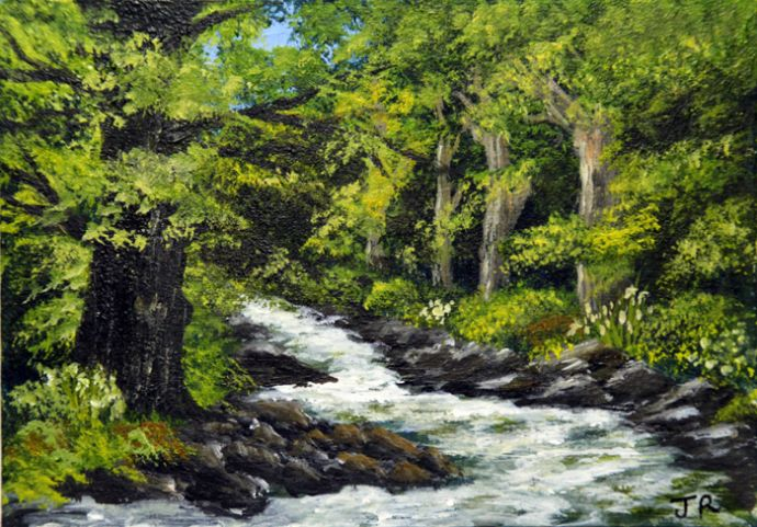 Woodland Stream **Sold**