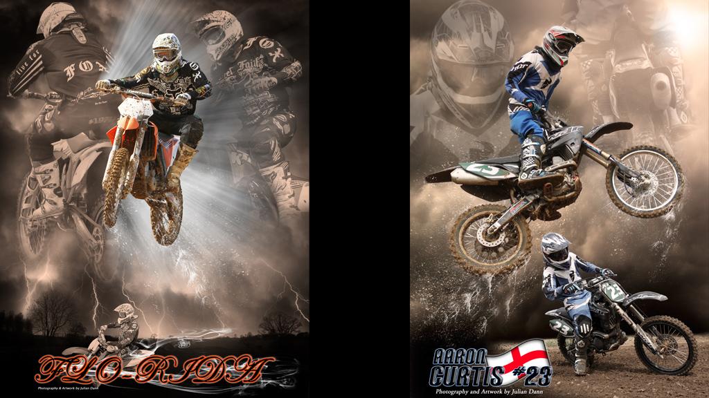 Motocross Poster Art