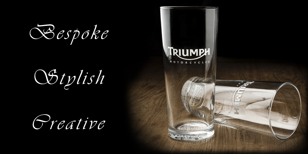 Triumph Glass Product Photography