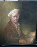 My father as Apostel Paulus van Rembrandt