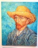 Inspired by van Gogh self portraits